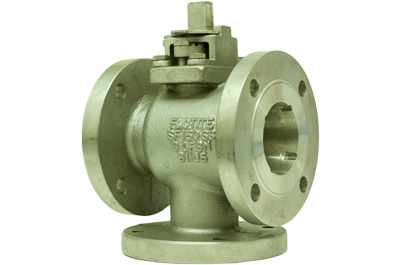 MPF155 - Multi-Port 3-Way Flanged Ball Valves