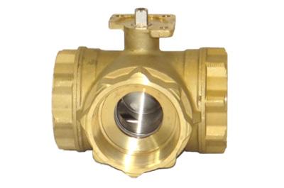 MPT355/365 - 3-Way Brass Multi-Port Series