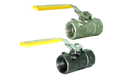 T12 - 1 PC Reduced Bore Threaded Fire Safe Ball Valve