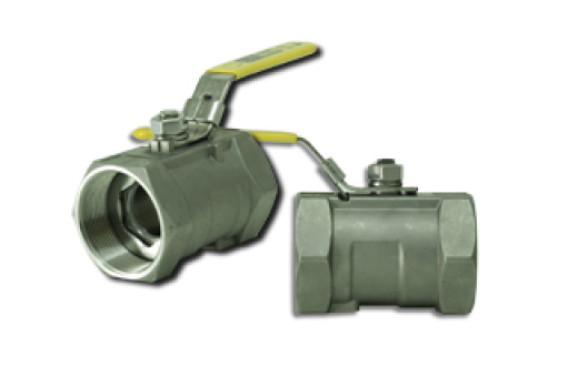 T45SS - 1 PC Reduced Port Threaded Ball Valve