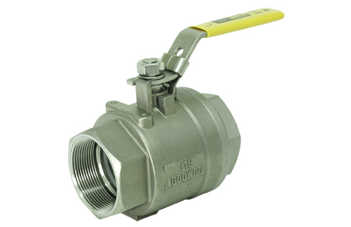 T80SS - 2 PC Full Bore Economical Ball Valve