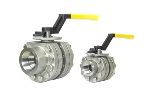 Titan Series 3PC High Pressure Ball Valves