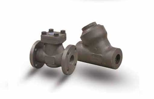 NEWCO FORGED STEEL CHECK VALVE