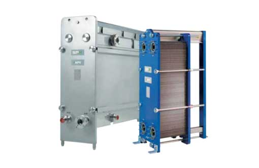 APV Gasketed Plate Heat Exchangers | Robin Neron Ltee - Commercial