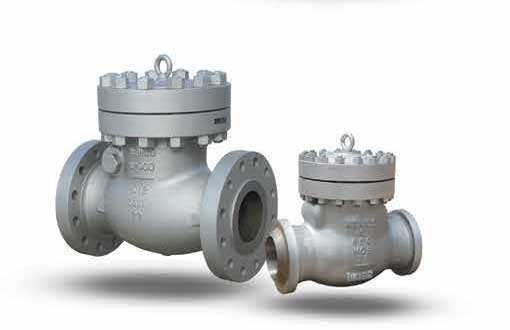NEWCO CAST STEEL CHECK VALVES